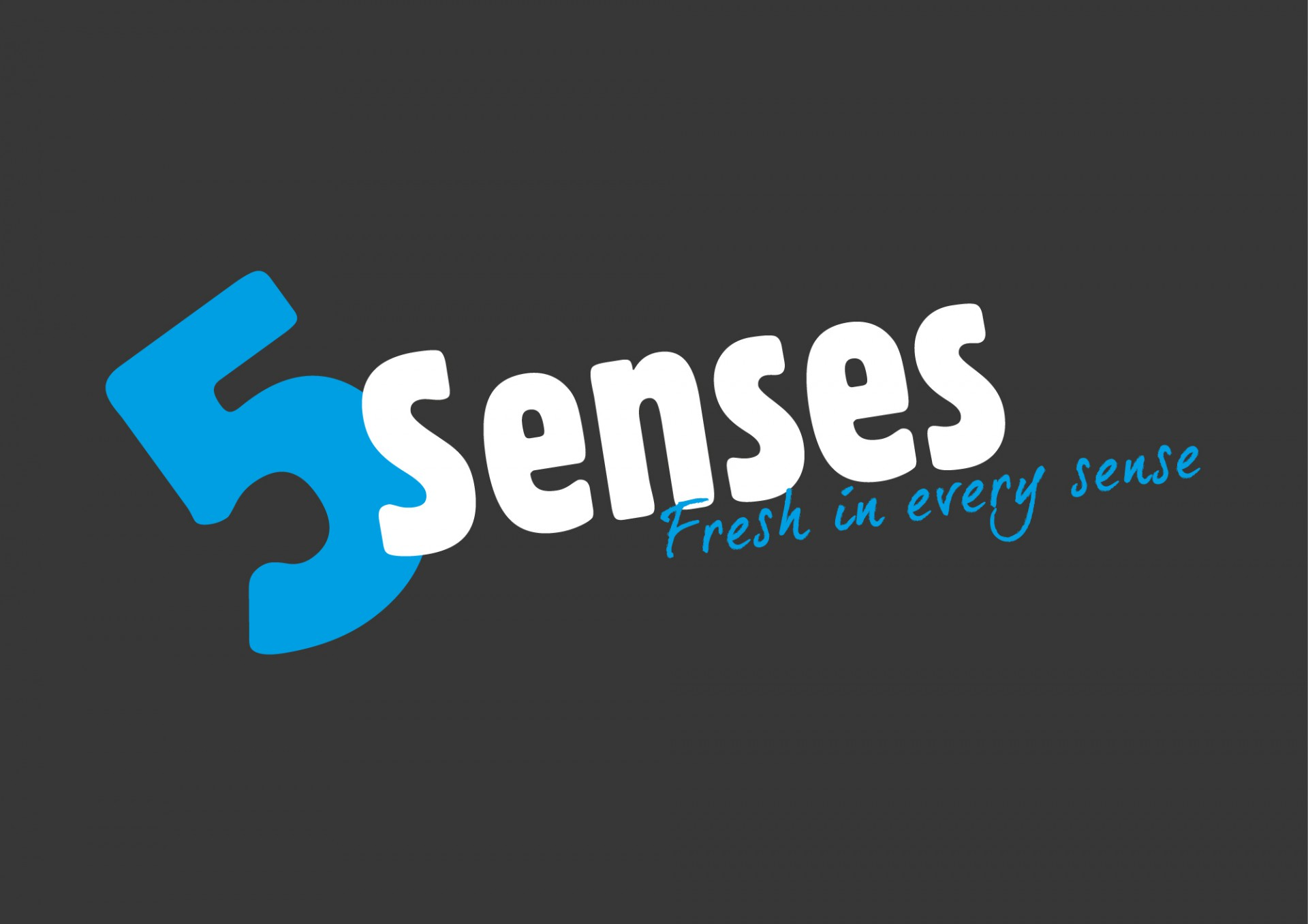 5 senses logo ERP